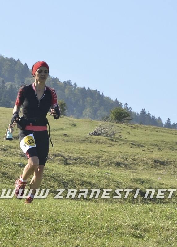 Gican Claudia winner of Piatra Craiului Marathon 2015