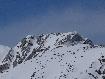 Nordic ridge in winter in Piatra Craiului