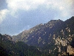 Cresta din Piatra Craiului vazuta din Zarnesti