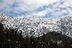 Beatiful winter landscape in Piatra Craiului