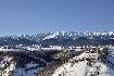Piatra Craiului si satele de la poale iarna