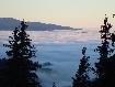 Fog in Fundata untill  Arges are Piatra Craiului