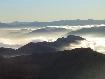 Mist valley in Piatra Craiului
