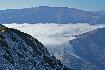 Mist between Iezer Papusa and Piatra Craiului
