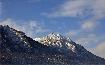 Piatra Craiului iarna vazuta din Zarnesti