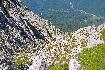 Vedere spre Plaiul Foii din creasta Piatra Craiului
