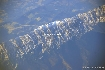 Piatra Craiului seen from the plane 1