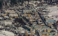 Cartierul Tohan Blocuri iarna
