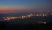 Orasul Zarnesti noaptea vazut de sus