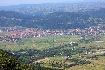 Orasul Zarnesti vazut de la inaltime