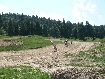 MountainBiking on Motocross circuit Zarnesti Brebina/Breghina