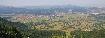 Panorama cu orasul Zarnesti