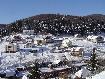 Cartierul de vile de pe Brebina iarna