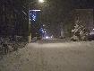 Sosea cu zapada iarna in Zarnesti