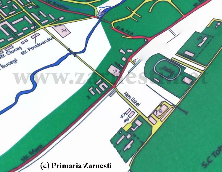 Zarnesti map