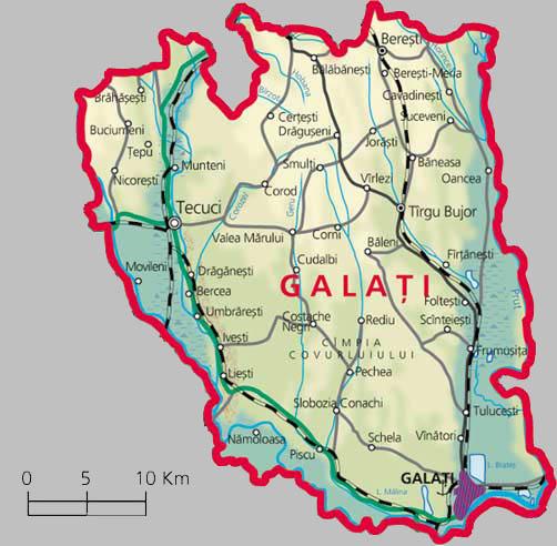 Harta Galati