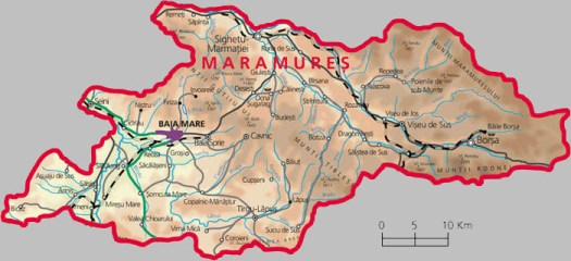 Harta Maramures