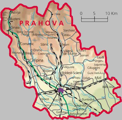 Harta Prahova