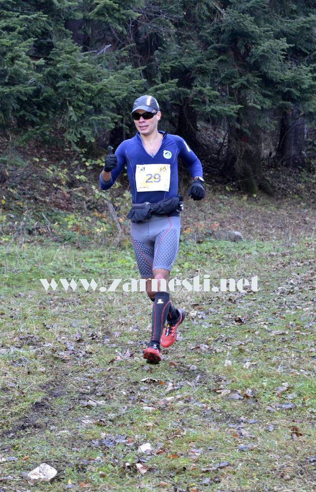 Bostan Adrian winner of Piatra Craiului Marathon 2013