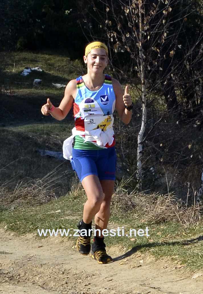 Iulia Gainariu castigatoare-mpc-2014-fete Maraton Piatra Craiului - Salomon 2014